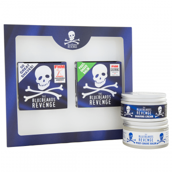 The Bluebeards Revenge Shaving Cream & Post-Shave Balm Kit
