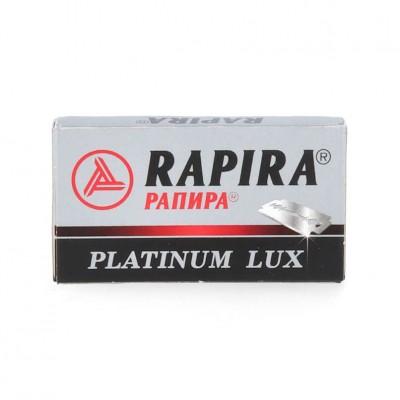 5X - Rapira Platinum Lux Shaving Blades
