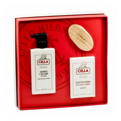 Cella Milano Beard Care Gift Set
