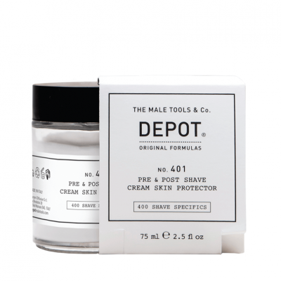 DEPOT No.401 Pre & Post Shave Cream 75ml