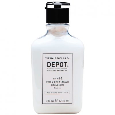DEPOT No.402 Pre & Post Shave Emollient Fluid 100ml