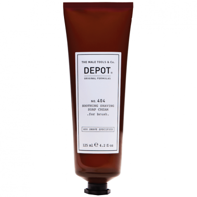 DEPOT No.404 Soothing Shaving Soap Cream 125ml