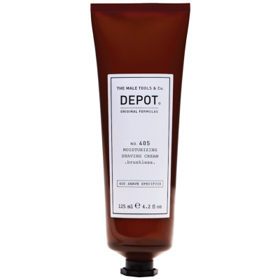DEPOT No.405 Moisturizing Shaving Cream 125ml