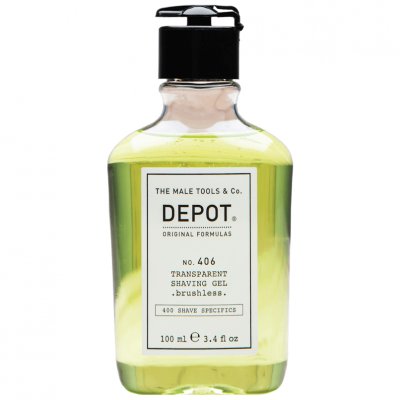 DEPOT No.406 Transparent Shaving Gel 100ml