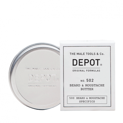 DEPOT No.502 Beard & Moustache Butter 30ml