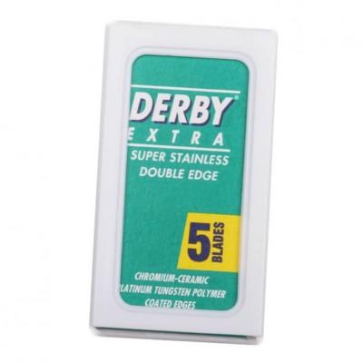 Derby Double-Edge Razor Blades (5 Lâminas)