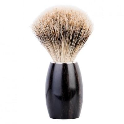 Dovo Fine Pure Badger Shave Brush Ebony (918 217)