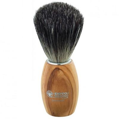 Dovo Shaving Brush Pure Badger Olive Wood (918 106)
