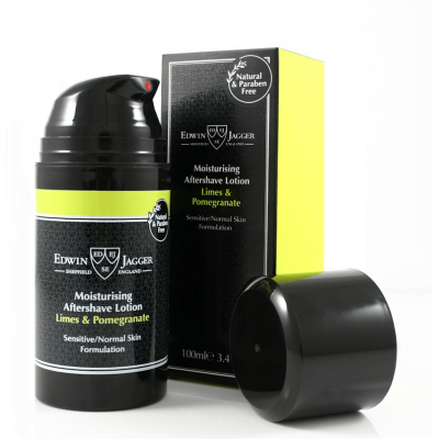 Edwin Jagger Limes & Pomegranate Aftershave Lotion 100ml