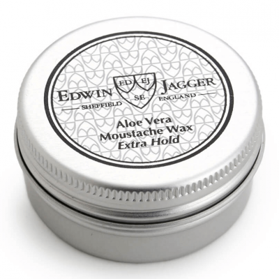 Edwin Jagger Moustache Wax Aloe Vera Extra Hold 15ml