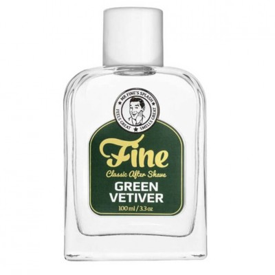 Fine Green Vetiver Aftershave 100ml