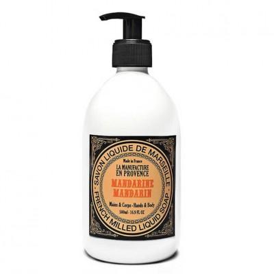 La Manufacture en Provence Liquid Soap 500ml Mandarin