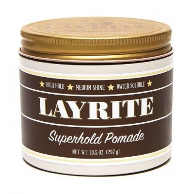 Layrite Superhold Pomade 297g (Profissional)