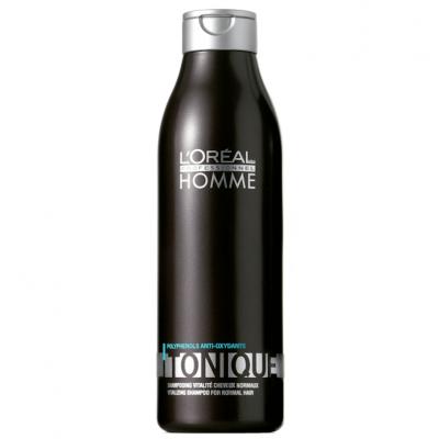 Loreal Homme Shampoo Tonique Cabelos Normais e Pintados 250ml