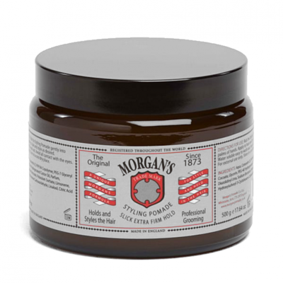 Morgans Styling Pomade Slick Extra Firm Hold 500g