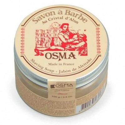 Osma Shaving Soap With Alum Crystal 100g