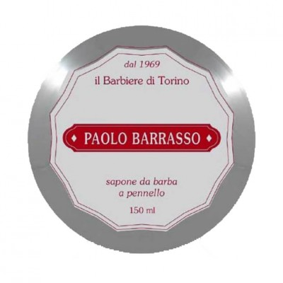 Paolo Barrasso Luxury shaving soap Red 150ml