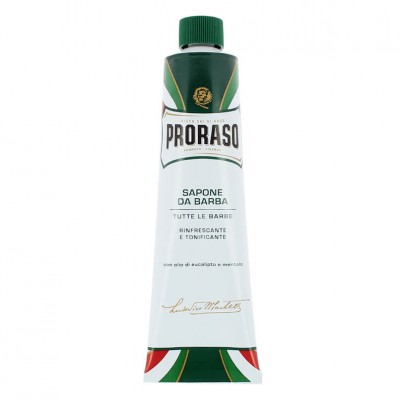 Proraso Green Shaving Soap In A Tube 150ml