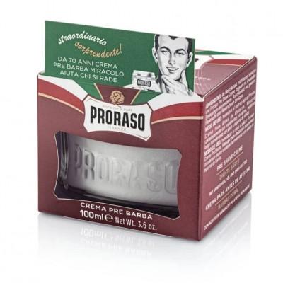Proraso Red Pre-Shaving Cream 100ml