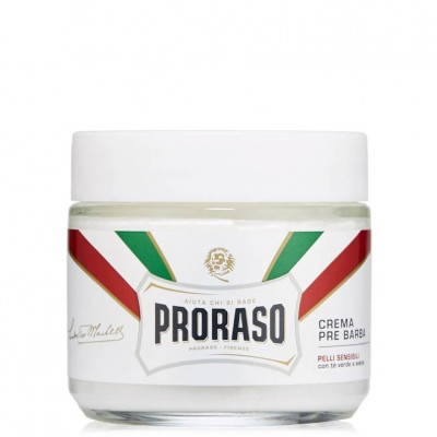 Proraso White Pre-Shaving Cream 100ml