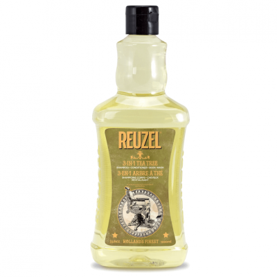 Reuzel Shampoo 3-in-1 Tea Tree 1000ml