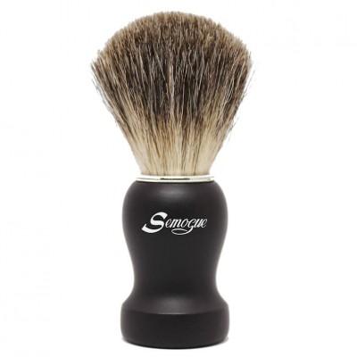 Semogue Texugo Pure Grey Preto (Pha C3TPG B)