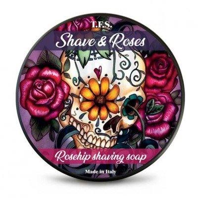Tcheon Fung Sing Shave & Roses Rosehip Shaving Soap 125ml