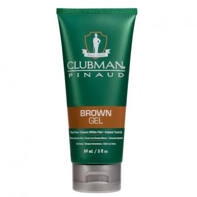 Temporary Hair Color Gel Brown Clubman Pinaud 89ml